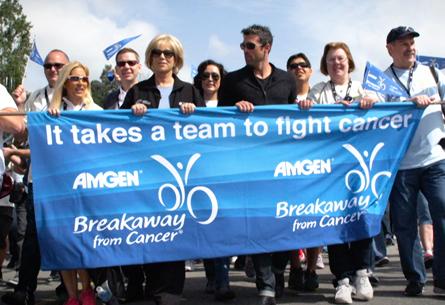Amgen Breakaway from Cancer Tribute